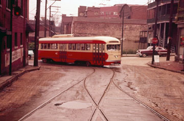 PCC Car in Carrick, Pa.