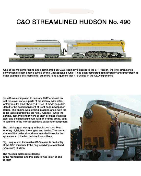 History of C+O Streamlined Hudson