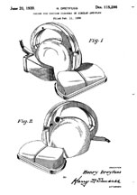 Dreyfuss Hoover Vacuum Cleaner Design Patent D-115,286