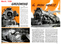 Grooming the Iron Horse
