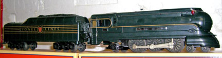 Model of the K-4 Locomotive