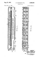 Otto Kuhler Double Decker Patent 2564909