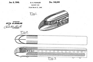 Otto Kuhler Patent D-148,308