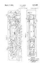 Lipetz Locomotive Patent 2034585