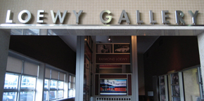 Entrance to the Loewy Gallery, Roanoke