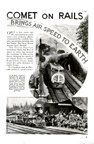 Comet on the Rails from Popular Mechanics November 1935