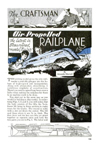 Plans for a Model RailplanePopular Mechanics September 1932