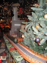 MTA xmas 2008 train display