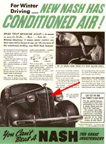 Ad for the 1938 Nash