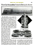 The New Haven Comet from the May, 1937 issue of Popular mechanics