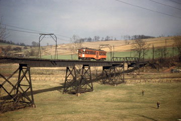 Pittsburgh-Latrobe Line of West Penn Railways