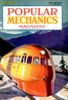 Railplane on the cover of Popular Mechanics February 1934