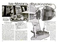 William Stout onaerodynamics and railroading Popular Mechanics February 1934