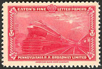 American Bank Note Poster -- S1 Locomotive