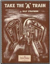 Sheet Music cover for Take the A Train
