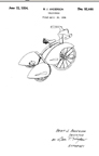 Streamlined Tricycles Bert Anderson design Patent D-92,446