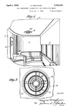 20th Centutry Limited 1st Class Compartment: Dreyfuss Patent No. 2,153,242