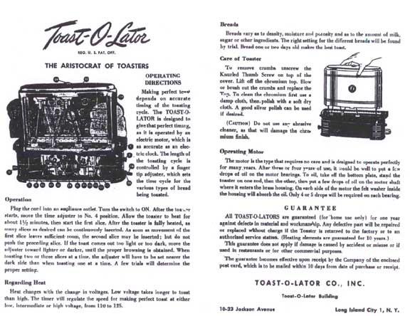 Toast-O-Lator Instructions-1