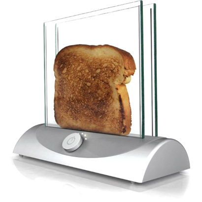 the Transparent toaster