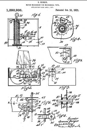 Sam and Ham Patent 1393936