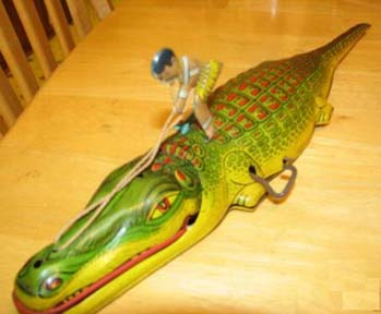 Chein Alligator Toy - Reins