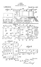 J. Chein Locomotive Patent No 1,248,616