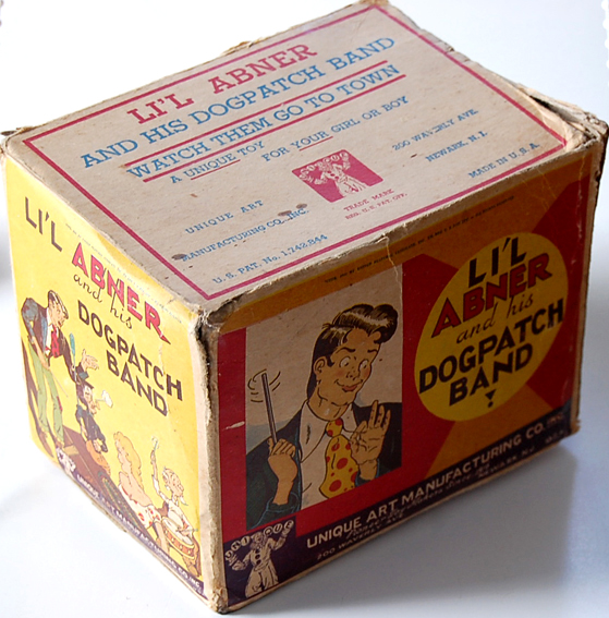 Lil Abner Band-original box