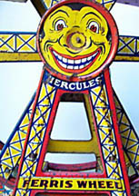 J. Chein Ferris Wheel Clown