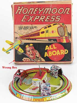 Suspicious Honeymoon Express Toy