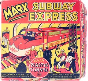 Marx Subway Express Toy- Box
