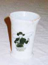 Hopalong Cassidy Tumbler: Hoppy's Picture on the Front
