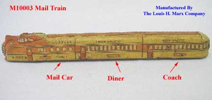 Marx M-10003 Lithographed Tin Train Model