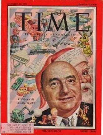 Louis H. Marx, Time Magazine Cover, Dec 12, 1955
