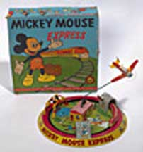 Marx Honeymoon Mickey Express Toy