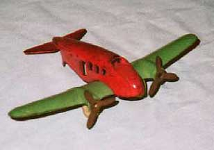 Cast Iron Airplane