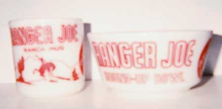 Ranger Joe Mug and Bowl