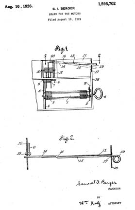 Sam and Ham Patent 1595702
