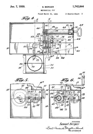 Sam and Ham Patent 1742844