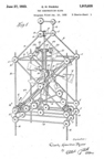 Tinker Toy Patent No. 1,915,835