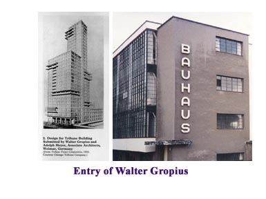 Gropius entry in Trib Tower Contest