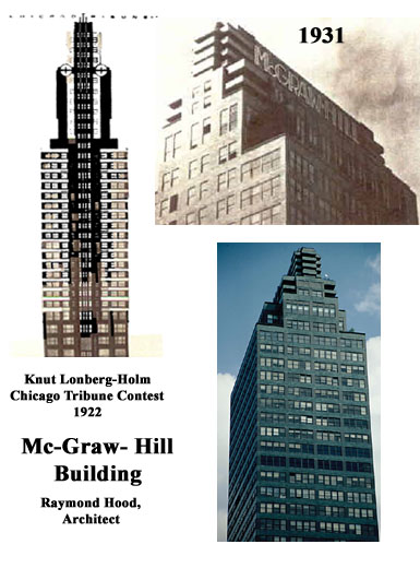 Design influences, McGraw Hill Building