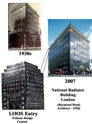 Design Influences, National Radiator Building London