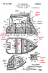 Schreyer  Steam Iron Patent No. 2,178,512