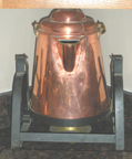 Copper Kettle for Making and Serving Boiled Coffee
