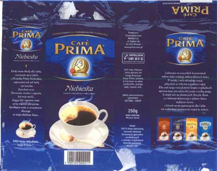Cafe Prima Package