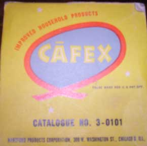 CAFEX kwik-cup brewer-Original Box