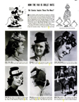 1938 LIFE Magazine on the Doll Hat fad