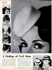 1961 LIFE Magazine on the Doll Hat fad
