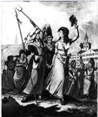 The Fishwife Marching with Liberty