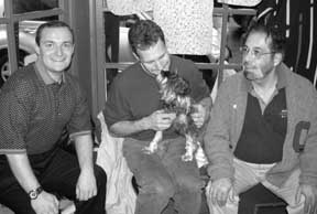 David, Gary, Frank and Olive